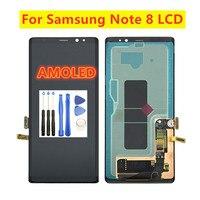 6,3 Оригинальный ЖК дисплей для SAMSUNG GALAXY Note 8 lcd N9500 N950F SM N9500F сенсорный экран цифровой планшет ЖКД сборка