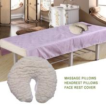 Massage Pillow Table Face Rest Cover For Cradle Cushions Padding Fits All Standard Headrest U Shape Pillows