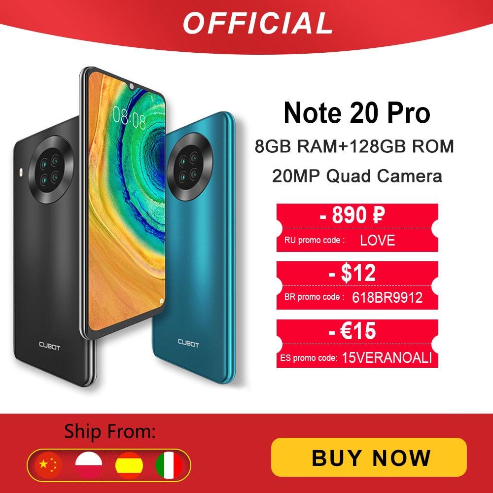 Cubot-Note-20-Pro-6-8GB-128GB-Quattro-Fotocamera-Dello-Smartphone-Offerta-4-Fotocamere-Posteriori-Helio Recensione CUBOT Note 20 Pro, Miglior Smartphone Cinese