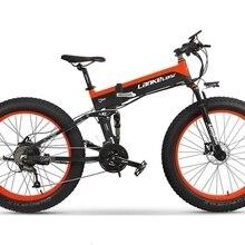 """48V OEM с толстыми покрышками Байк, способный преодолевать Броды XT750Plus 1000 Вт середине приводной ремень Gates Охота амортизационная вилка для велосипеда 2"""" складной электрический велосипед Shimano 27 Скорость"""