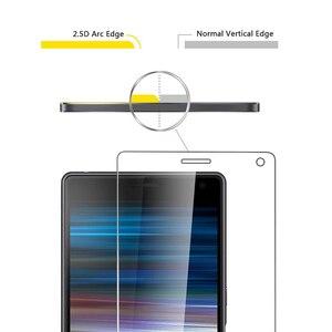 Image 3 - الزجاج المقسى لسوني اريكسون 1 II 10 II زائد 5 XA3 XZ4 XZ2 XZ1 المدمجة XZs XZ قسط XZ الزجاج المقسى حامي الشاشة فيلم