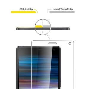 Image 3 - Verre trempé pour Sony Xperia 1 II 10 II Plus 5 XA3 XZ4 XZ2 XZ1 Compact XZs XZ Premium XZ Film protecteur décran en verre trempé