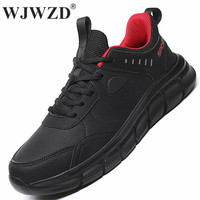 Waterproof Mens Sneakers Leather Casual Shoes Lace-up Men Trainers Lightweight Men Walking Shoes Tenis Masculino Plus Size 39-48 1