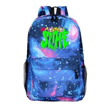 Anime Me contro Te Monster mochila escolar mochilas escolares para chicas niños...