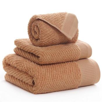 3 sztuk zestawy ręczników bawełna frotte ręcznie zestawy ręczników 2 sztuk ręczniki 1pc ręcznik kąpielowy dla hotelu domowy Hotel twarzy zestawy ręczników łazienkowych zestawy ręczników 22 style tanie i dobre opinie MR ZHU CN (pochodzenie) zestaw ręczników DROBNY WZÓR BAWEŁNA Z WŁÓKIEN CZESANYCH Rectangle FFMJ 5 s-10 s GEOMETRIC