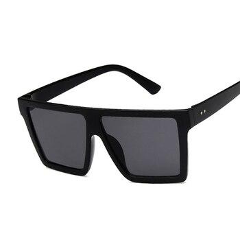 Oversize Luxury Brand Designer Sunglasses For Women Square Shades Fashion Retro Sun Glasses Female Oculos De Sol Feminino