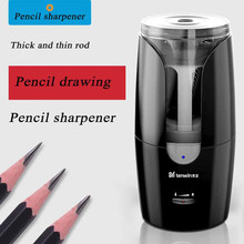 Big hole electric pencil sharpener tenwin Automatic pencil sharpener Recharge Writing with a thick rod taille crayon stationery