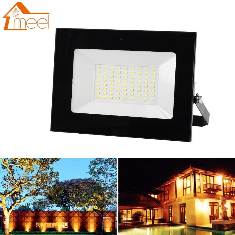 Ultra-thin LED Flood Light 10W 20W 30W 50W 100W 220V 240V Floodlight Waterproof Spotlight Outdoor Reflector Lighting