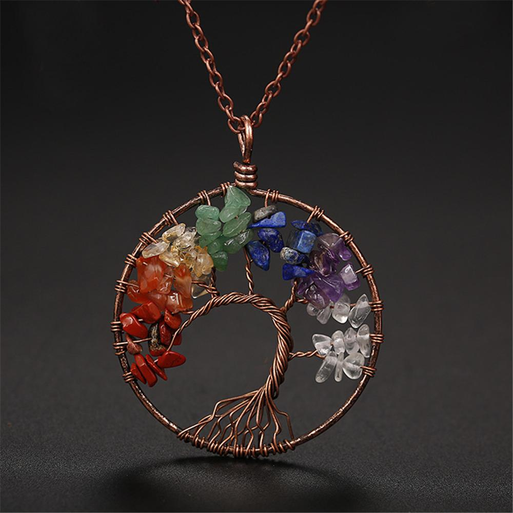 6pcs Wholesale 7 Chakra Kabbalah Tree Of Life Pendant Necklace Wire Wrap Crystal Natural Stone Quartz Women Jewelry Making Power Necklaces Aliexpress We at holysands.com have a beautiful collection of kabbalah tree of life jewelry in both silver and gold, made in israel by leading israeli artists, where. www aliexpress com