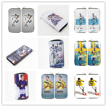цена на Men's Wallet World Cup Soccer Stars One Piece The Premier League English England Football Soccer Fabric and Leather Wallet