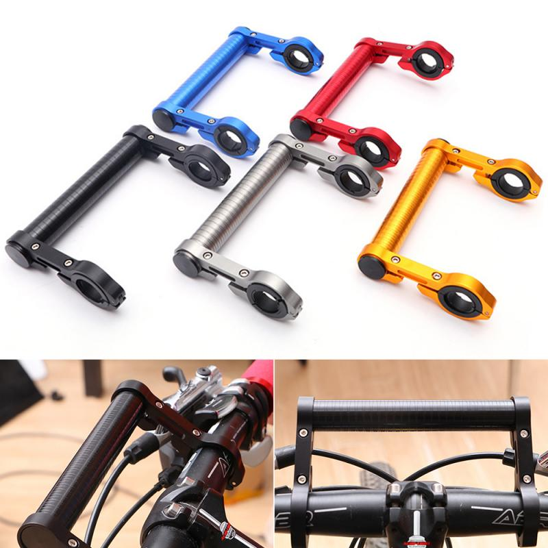 Multifuction Bicycle Extension Rack Aluminum Alloy Expansion Bracket Lamp Holder Of Motorcycle Frame Table 15CM