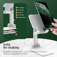 Luxo dobrável telefone titular altura ajustável celular tablet suporte para samsung huawei xiaomi iphone smartphone mais suporte