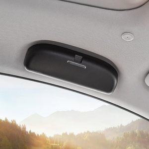 Image 4 - Xburstcar Auto Auto Gläser Halter für BMW 7 Serie G11 G12 720 730 740 750 760 2016   2021 Gläser fall Sonnenbrille Lagerung Box