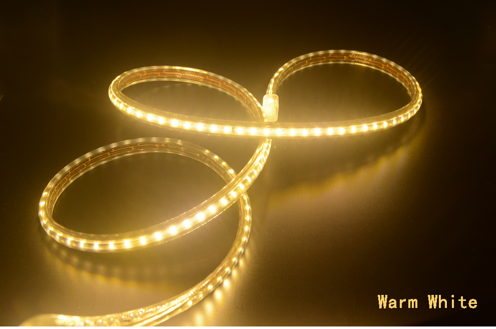 H3de5c555153e491d884a0d016a6b9ac3c Super bright LED Strip 220V IP67 Waterproof 120LEDs/M SMD 3014 Flexible Light + Power Plug For outdoor garden tape rope