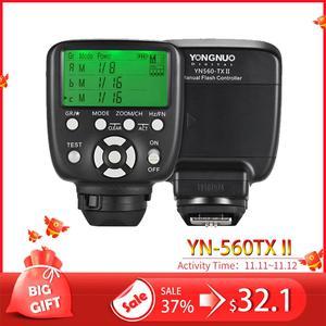 Image 1 - YN560TX II YN560 TX NII Wireless Flash Controller and Commander for Yongnuo YN 560III YN560TX Speedlite for Nikon DSLR Newest