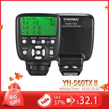YN560TX II YN560 TX NII Điều Khiển Flash Không Dây Và Chỉ Huy Cho Yongnuo YN 560III YN560TX Speedlite Cho Nikon DSLR Mới Nhất