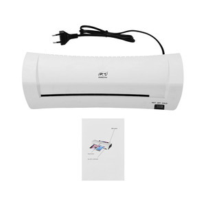"""Image 5 - A4 9"""" Office Hot&Cold Photo Laminator Roll Laminator Thermal Laminating Machine for A4 Document Photo"""