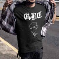 Goth Boi camarilla chico Gbc Lil Peep T camisa Top verano Camisetas Hombre Streetwear de moda de algodón de manga corta Camiseta Homme