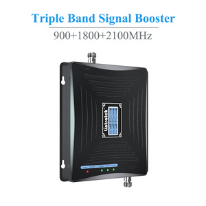 Image 2 - Lintratek LCD Mobile Signal Booster 900MHz 1800MHz 2100MHz W CDMA Repetidor GSM 2G 3G 4GLTE Triple Band Cell Phone Amplificador.