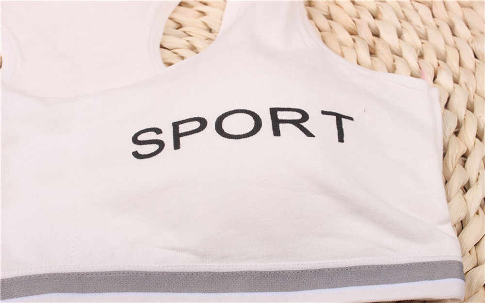2019 Kids Girls Underwear Bra Vest Children Underclothes Sport Undies Clothes Clothes Regular Free Size Clothes Drop Shipping