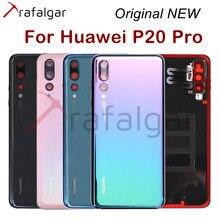 Original NEW Back Glass For Huawei P20 Pro Battery Cover Rear Glass Housing Door Case+Camera Lens Sensor For Huawei P20 Pro
