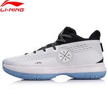 Li-ning men wade a sexta sapatos de basquete salto + tuff os forro almofada sapatos esportivos wearable tênis aban023