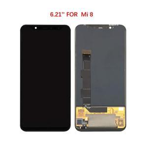 Image 2 - מקורי AMOLED מסך לשיאו mi mi 8/mi 8 פרו/mi 8 SE LCD תצוגת Digitizer עצרת מגע החלפת מסך LCD