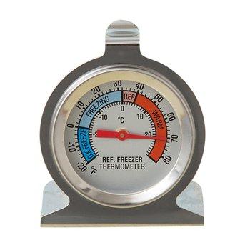 Klasyczna seria termometr z dużym pokrętłem termometr do lodówki termometr do zamrażarki ze strefami bezpieczeństwa tanie i dobre opinie Gospodarstw domowych termometry