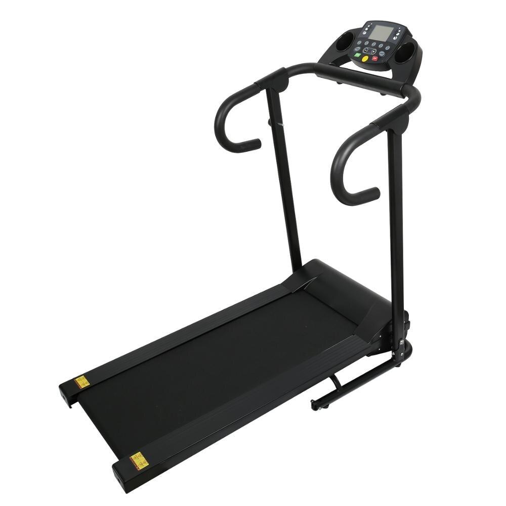 Compact chaud Tapis De Course Pliable 1100W Jogging Machine pour La Maison avec ÉCRAN LCD support pour ipad