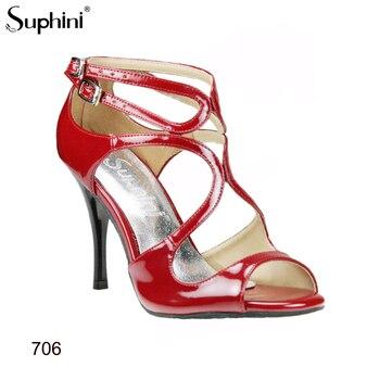Latin Dance Shoes Women Fast Shipping high heel dance shoes red tango dance shoes high heel slim 9cm heel фото