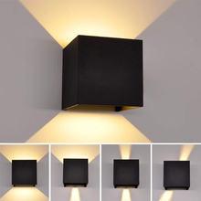 Artpad черный яркий 6 Вт светодиодный бра регулируемый светильник