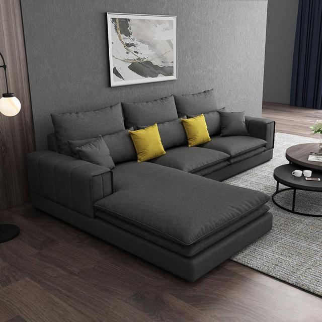 Modern Living Room Sofa L Shaped 2