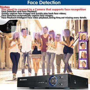 Image 4 - 16Channel DVR AHD/CVI/TVI/IP 2592*1944 5MP CCTV Video Audio Face Recorder Hybrid DVR NVR HVR 6 In 1 Security System App view PTZ