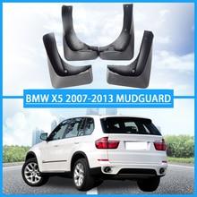 For BMW X5 E70 mudguard mud-splash mudflaps car Fender for accessories splash flaps 2007-2013 4PCS