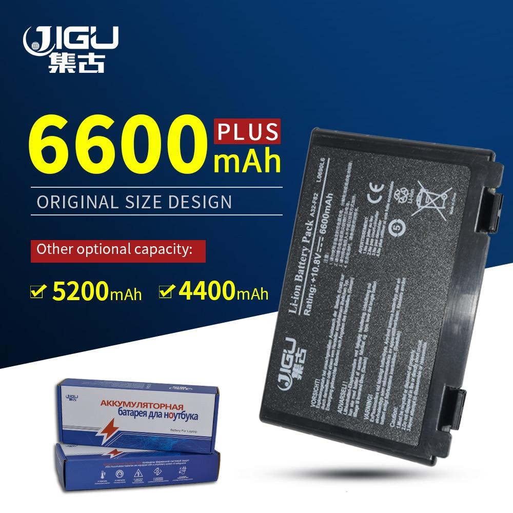 JIGU K50AB-X2A K50ij K50IN K70IC K70IJ K70IO X5DIJ-SX039c Laptop Battery For Asus X50 X5D X5E X5C X5J X8B X8D K40IJ K40IN
