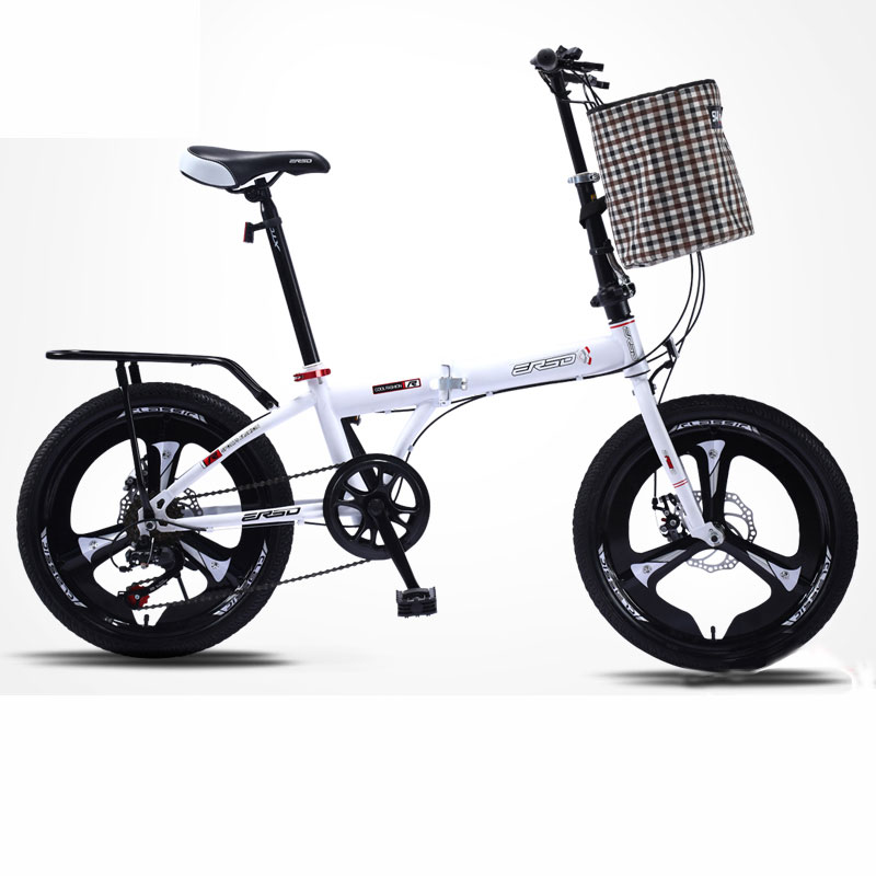 Folding Bike Speed Ultra Light Portable Compact 16/18/20 Inch Trunk Bicycle Adult Students 2019 New Selling