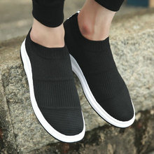 Мужская модная обувь; кроссовки; носки; мужская повседневная обувь из сетчатого материала; дышащая обувь на плоской подошве; сезон лето-весна; II-38Z