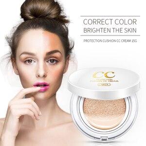 Sunscreen Air Cushion BB CC Cream Hyaluronic Acid Concealer Moisturizing Foundation Makeup Bare Whitening skin Korean Cosmetics