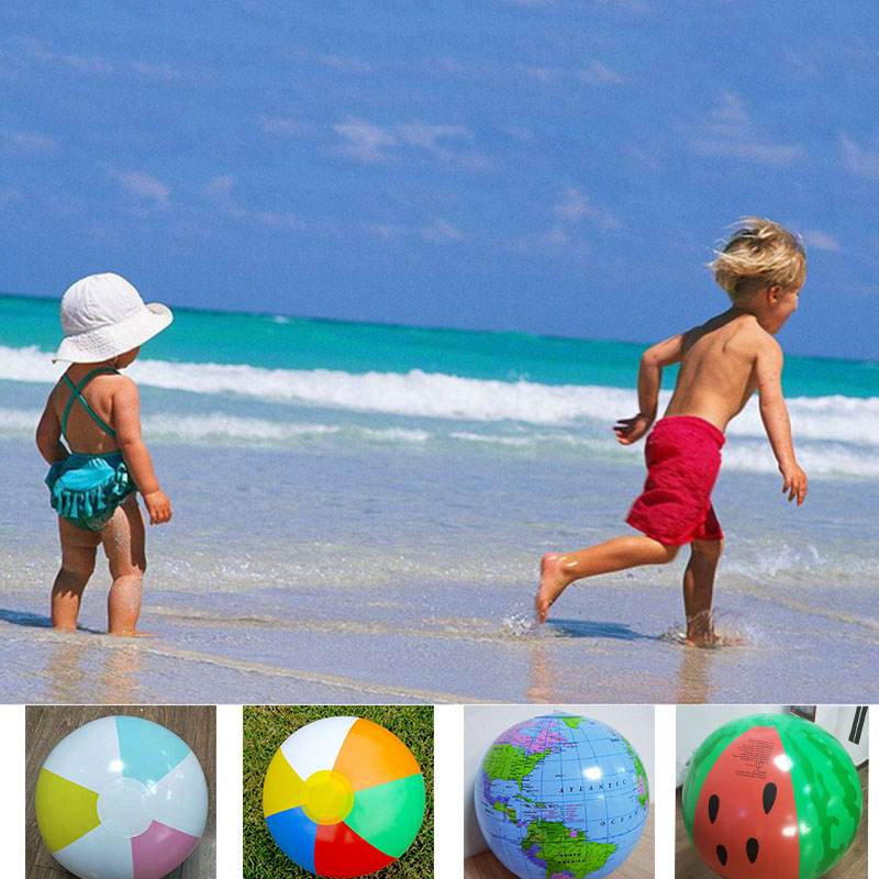Beach Ball Toys Pool Party Favors Summer Water Toy Fun Play Beachball Game YJS Dropship