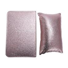 Профессиональный держатель подушки для ногтей из мягкой искусственной кожи, набор для рук, Маникюрный Инструмент для маникюра