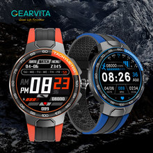 E15 חכם שעון גברים ספורט שעונים IP68 עמיד למים GPS מסלול קצב לב לחץ דם מזג אוויר Smartwatch PK P8 שעון