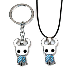 2019 New Game Hollow Knight Star Keychain Metal Pendant Men Figure Chaveiro Amulets Accessories