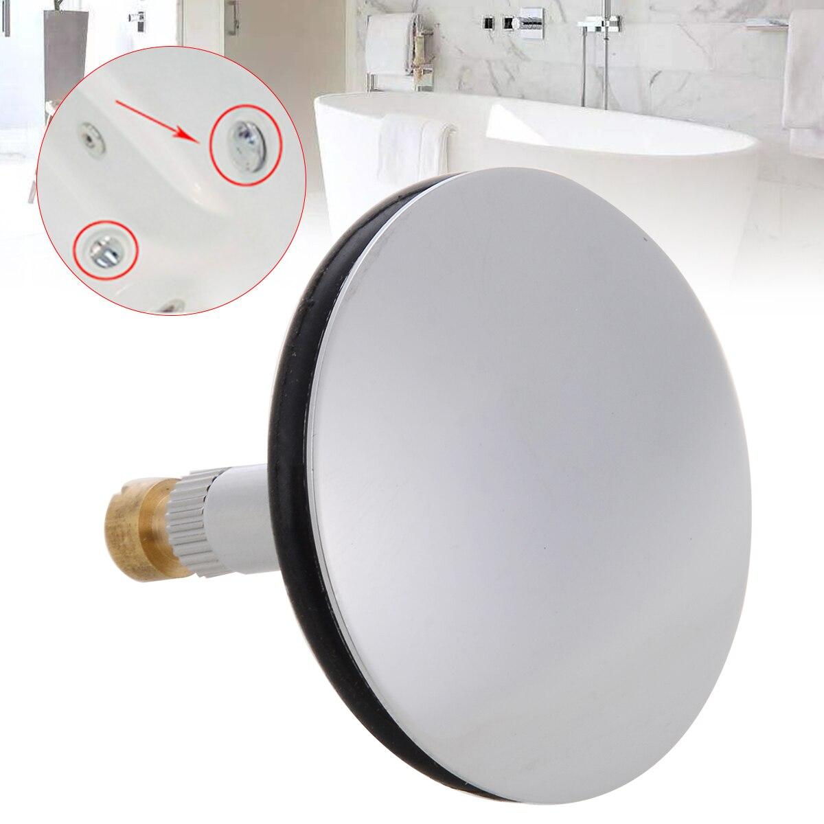 1pc 43mm Brass Bathtub Plug Drain Waste Plug Valve Bathtub Drain Stopper For Bathroom Replacement Accessories