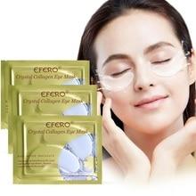 5 пар = 10 шт., кристальная коллагеновая маска для глаз, маска для лица, пластырь для век, против морщин, увлажнение, маски для глаз, темные круги, патчи для глаз EFERO