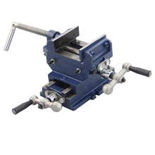 Portable 3-inch Cross Vise Tightens Wood, Metal Plastic, Etc.