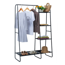 Hanger Coat-Rack Shoes Stand-Organizer Shelves Hanging-Clothes Garment Double-Wardroberack