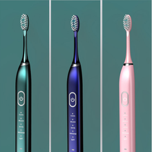 Электрическая ультразвуковая зубная щетка перезаряжаемая электрическая зубная щетка 31000 раз/мин моющаяся электронная отбеливающая водонепроницаемая