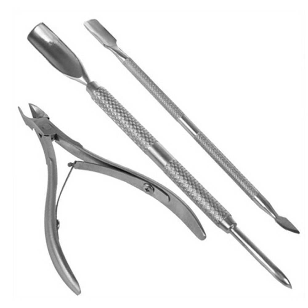 Nail Tools Exfoliating Tool Set Dead Skin Cut Dead Leather Fork Push Cuticle Nipper With Cuticle Pusher Durable Manicure Tool