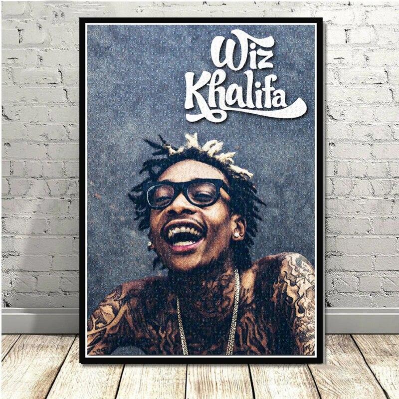 Wiz Khalifa Hip-Hop Singer Star wall Poster 32x24/'/' 044