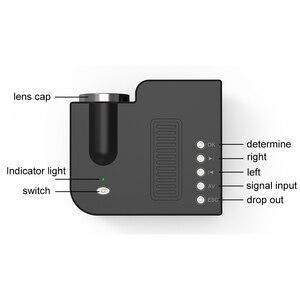 Image 4 - UNIC 28 מיני נייד מקרן 1080p מלא HD LED מקרן קולנוע ביתי בידור מקרנים USB AV TF